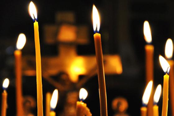 Отпевание в православной церкви