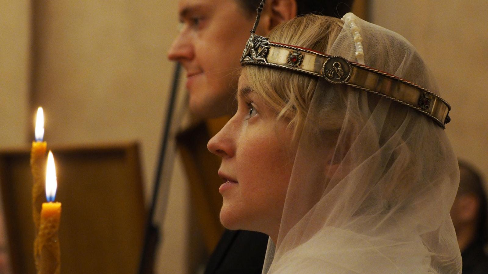 Венчание Михаила и Анны Афанасьевых
