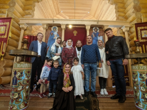"""Крещение Ульяны Бондарь-Музыкальное Агентство """"КитежЪ"""""""